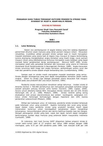 dr. KIKING RITARWAN - USU Library - Universitas Sumatera Utara