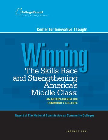 Winning the Skills Race and Strengthening ... - College Board