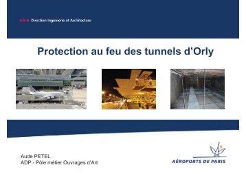 Protection au feu des tunnels dOrly - CoTITA