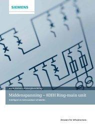 Middenspanning – 8DJH Ring-main unit - Industry - Siemens ...