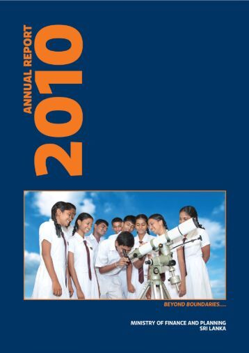 Annual Report 2010 - Ministry of Finance and Planning