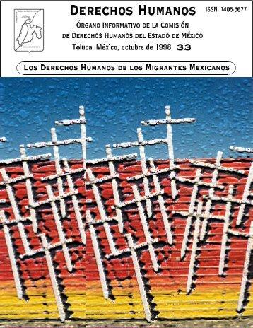 Los derechos humanos de los migrantes mexicanos - codhem