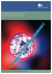 UK greenhouse gas emissions: measurement and reporting
