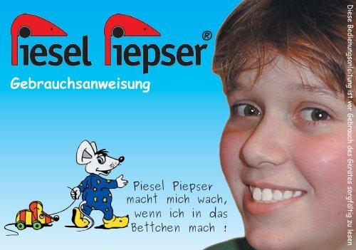 Anweisung Purisa neu_seite 4.indd - Der Piesel-Piepser