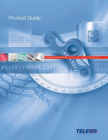 Product Guide - Telesis Technologies, Inc.