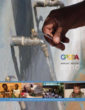 ANNUAL REPORT - GPOBA