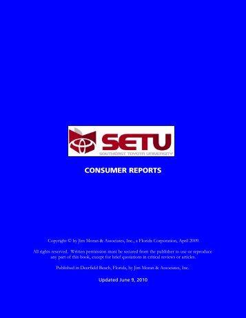 Consumer Reports FG 2010