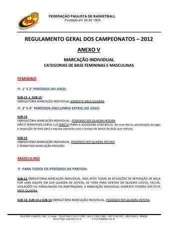 Basquetebol - marcação Individual - Moodle USP do Stoa