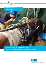 Retrofitting & Modernisation - Bilfinger Piping Technologies GmbH