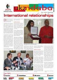 NDABA MARCH 2007.pmd - University of KwaZulu-Natal