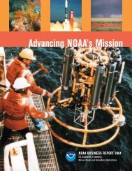 Advancing NOAA's Mission - NOAA Office of Public and Constituent ...