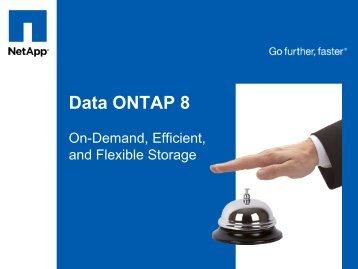 Data ONTAP 8