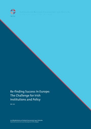 Re-finding Success in Europe - the NESC Website