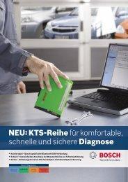 NEU:KTS-Reihefür komfortable, schnelle und sichere Diagnose