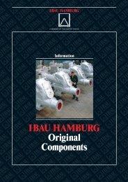 The I BAU HAMBURG Original components