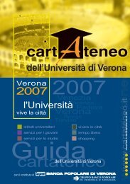 pdf (it, 2585 KB, 17/07/07) - Università degli Studi di  Verona