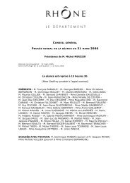 Présidence de M. Michel MERCIER La séance est ... - Canalblog