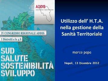 M. Papa - CARD Confederazione Associazioni Regionali di Distretto