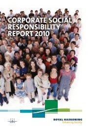 CSR Report 2010 - Royal Haskoning