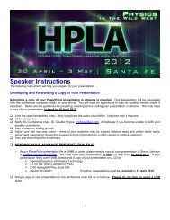 Please click here to download the speaker presentation instructions.