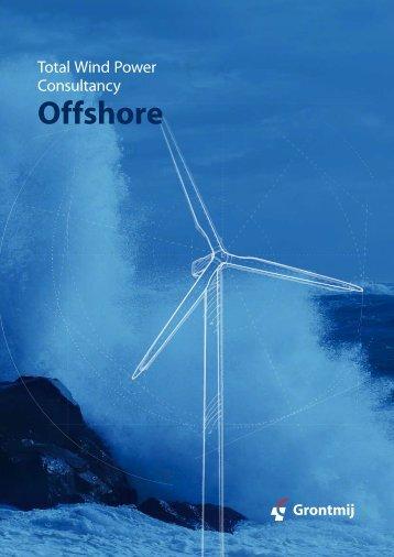 Grontmij Offshore Wind Brochure