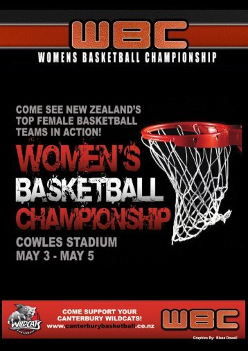 2013 WBC Programme – Christchurch - Basketball New Zealand