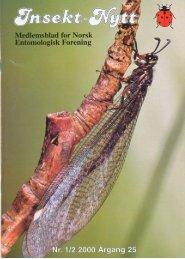 Insekt-Nytt • 25 - Norsk entomologisk forening
