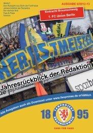 Heft 06: Union Berlin - FanPresse Braunschweig