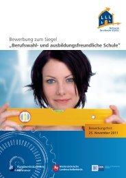 Bewerbungsfrist: 1. September 2008! - Berufswahl-SIEGEL