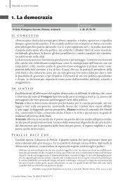 1. La democrazia - Loescher  Editore