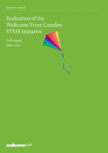 Download full evaluation report - Wellcome Trust