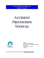 PWS Accident Prevention Manual - Department of Public Works and ...