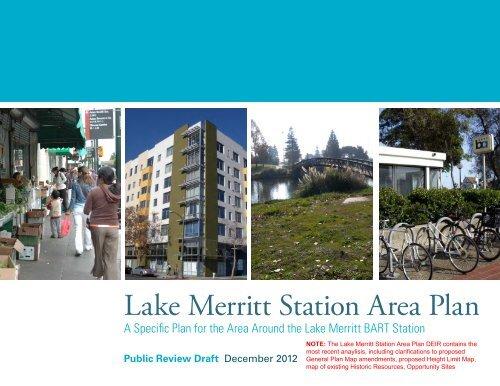 Lake Merritt Station Area Plan - City of Oakland