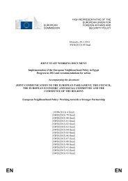 Egypt - European Commission
