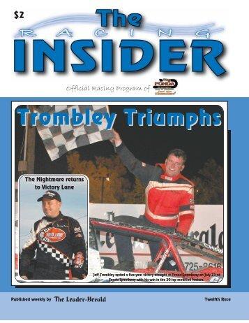 Fonda Speedway - The Leader Herald