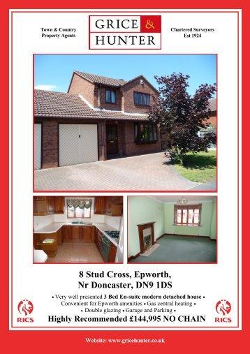 8 Stud Cross, Epworth - Grice & Hunter