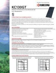 KC130GT - KYOCERA Solar