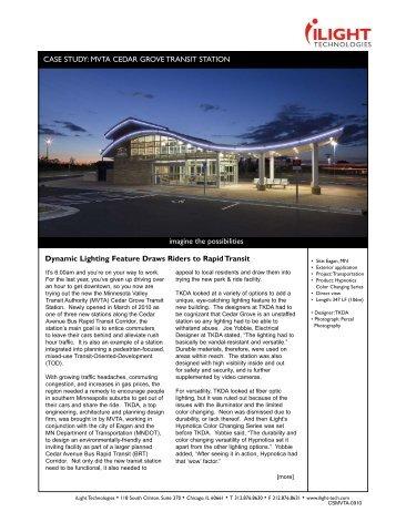 Cedar Grove - iLight Technologies