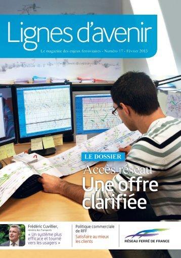 magazine Lignes d'avenir n°17 - RFF