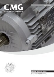 EMPEROR series motors - Industrial and Bearing Supplies