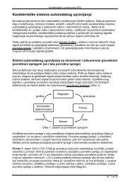 Karakteristike i performanse SAU