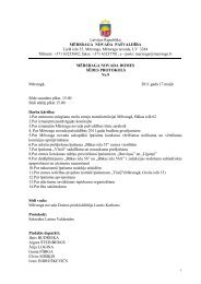 Sēdes protokols Nr.9 - Mērsraga pagasta padome