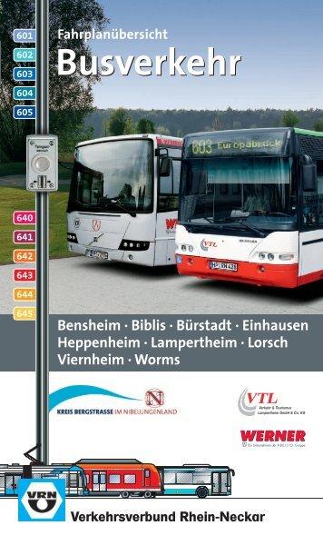 642 - VRN Verkehrsverbund Rhein-Neckar