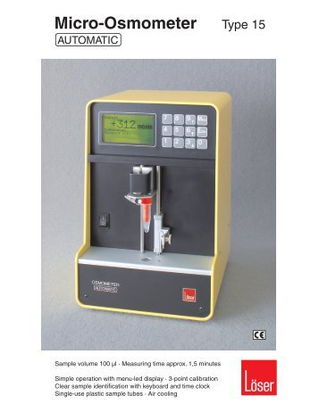 Micro-Osmometer