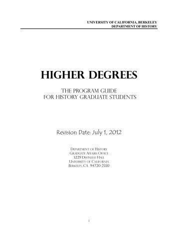 Program Guide in PDF Format - Department of History, UC Berkeley