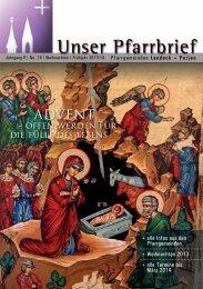Advent 2013 - Pfarren Landeck