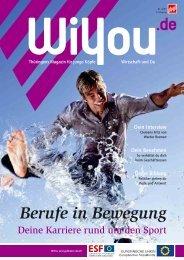 Berufe in Bewegung - WiYou Thüringen - Ausbildung