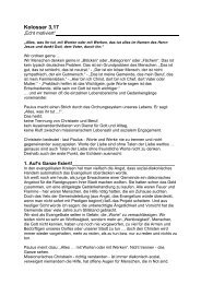 Armin Jans - Lebendige Gemeinde