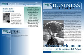 2008 Fall Newsletter - Region 9 Economic Development District