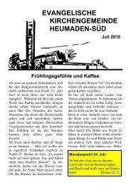Word Pro - 2010-7Text.lwp - Kirchengemeinde Heumaden-Süd